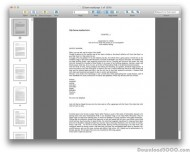 Enolsoft WordPerfect WPDReader for Mac screenshot